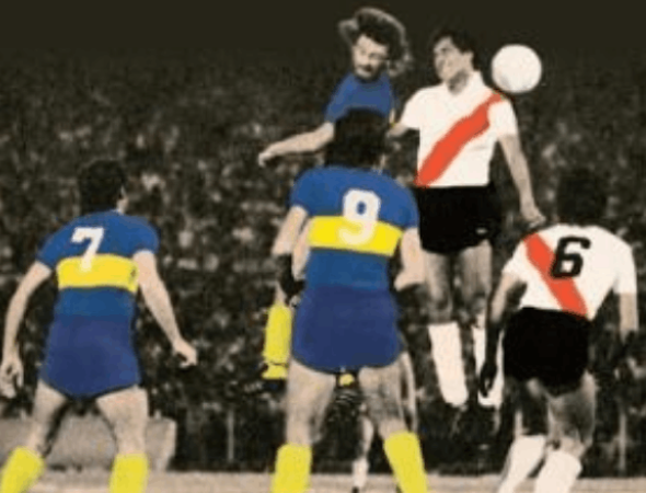 Boca y River disputaron su primera final en 1976