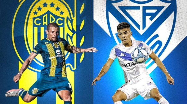 Rosario Central vs Vélez se vive en TNT Sports